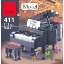 """Конст-р""(Brick) ""Piano / Пианино / Рояль"""